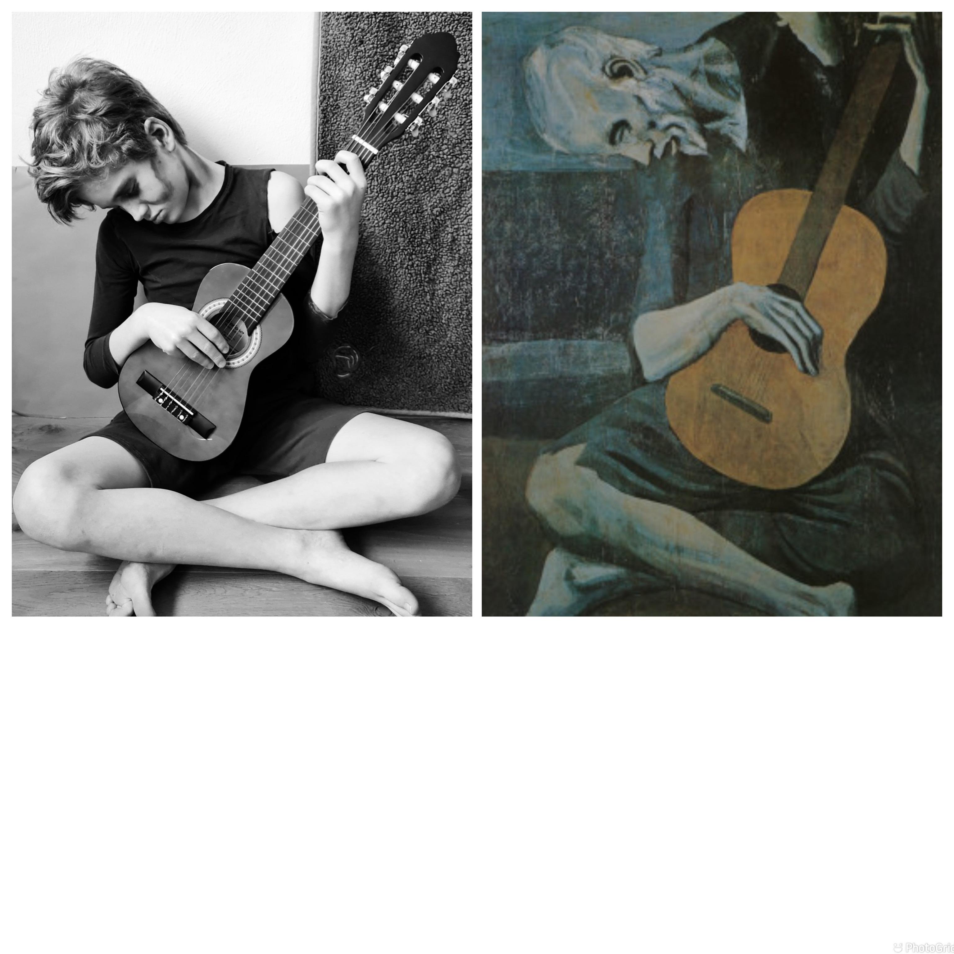 """Ben-4a-Picasso-""""Der-alte-Gitarrenspieler"""