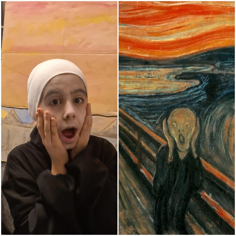 Der-Schrei-von-Edvard-Munch-und-Rahmah-Zayer-Dakhel-