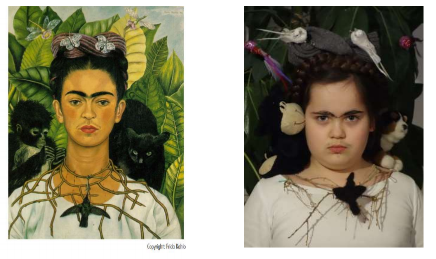 Frieda-Kahlo-Selbstportrait